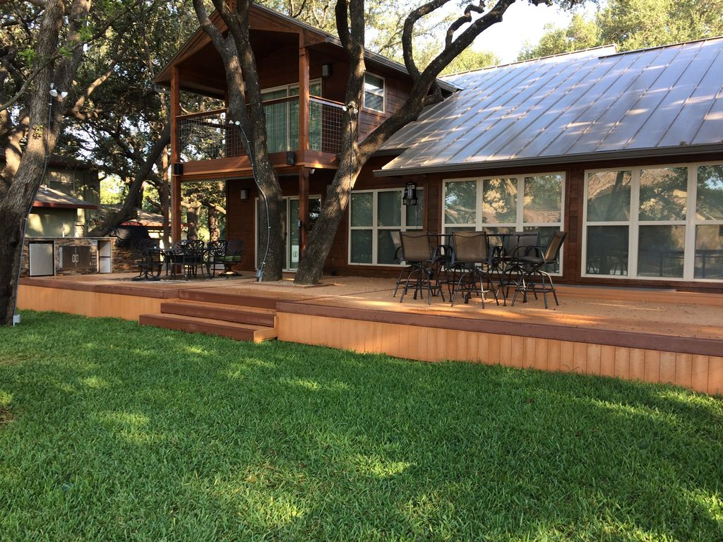 lake house water front with boat lift vrbo