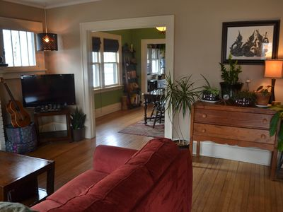 Photo for Artsy/ Zen Bungalow W. Asheville - walk to coffee shops, restaurants, bars, park