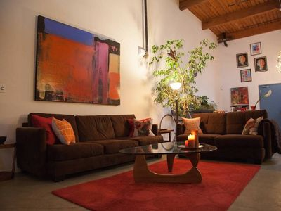 Photo for Architectural, Open Art Loft Close to Everything