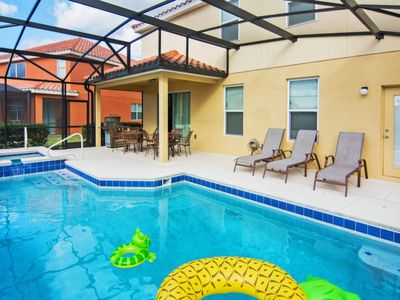 Photo for ACO Premium - 5 Bd w/ Pool, SPA and Game room (1604)