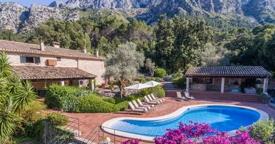 Photo for Charming villa with private heated pool and AC in Pollença. Great for families, hikers, cyclists.