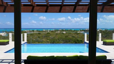 Photo for Best views on the island. 4BR villa close to everything, infinity pool & Jeep!