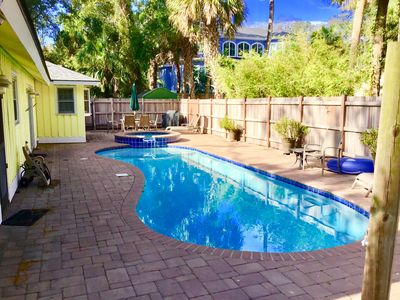 Photo for Walk to Beach and Coligny Plaza - beautiful interior, pool and hot tub