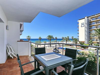 Photo for APARTMENT 2-5 PEOPLE DIRECT ACCESS TO THE BEACH AIR CONDITIONING WIFI