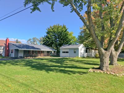 Photo for LAKETOWN COTTAGE: Newly renovated 2 bedroom with large yard, near lake & park!