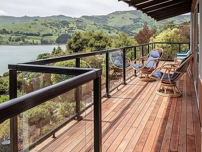 Photo for Kingfisher's Perch  - Takamatua Holiday Home