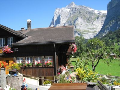 Photo for Quiet, central location, with a clear view from the Eiger to the Wetterhorn