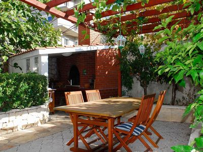 Photo for Two bedroom apartment with air-conditioning Seget Vranjica (Trogir)