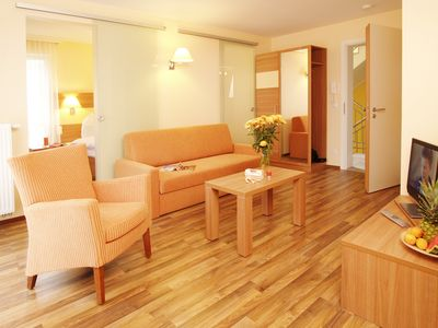Photo for Standard 2 rooms - beach house Aurell - directly on the Baltic Sea beach