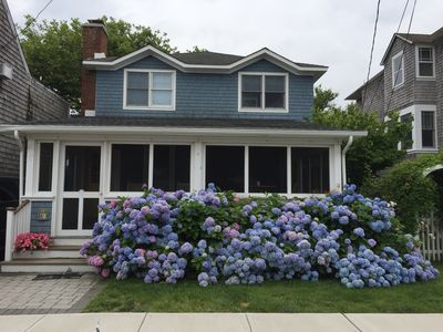 Photo for A Block From The Beach, A Block From Town And Loads Of Room! Chic And Charming!