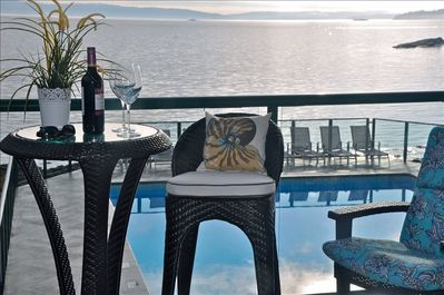 Spend magical time with a loved one. Drink in our view,  rejuvenate and enjoy!