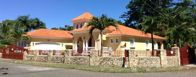 Photo for Magnificent Villa In Gated Community With Short Walk To Beach