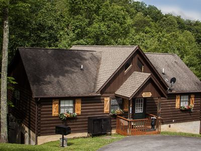 Photo for Pigeon Forge Area Cabin w/Hot Tub, Near Dollywood!