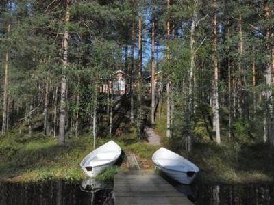 Photo for Vacation home Otsopirtti, otso in Lieksa - 7 persons, 3 bedrooms