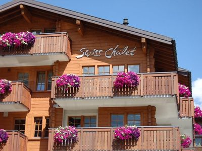 Photo for Apartment Swiss Chalet (114A05) in Saas-Fee - 3 persons, 1 bedrooms