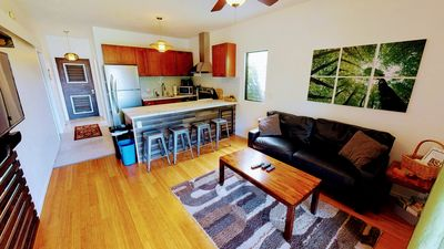 Photo for The Zen Bungalow! FULLY upgraded,steps to Ocean...walk to beaches!