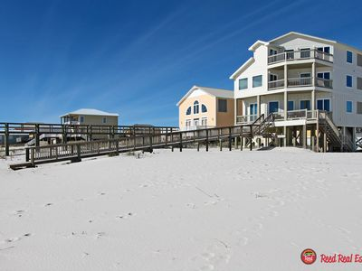 Photo for Always Sunny - Beautiful New Construction 6br/6ba Gulf Font Home, Sleeps 18