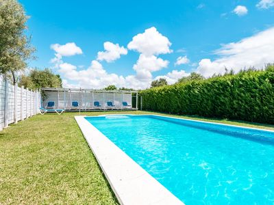 Photo for Modern holiday home with pool - El Madroño