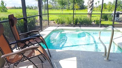Photo for SUNRISE 5 bed 15 min to Disney at Solterra Resort 4738