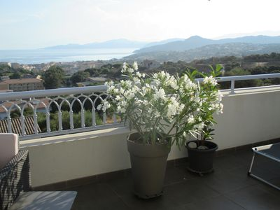 Photo for Exceptional view terrace full sky - WIFI - T3 conditioning