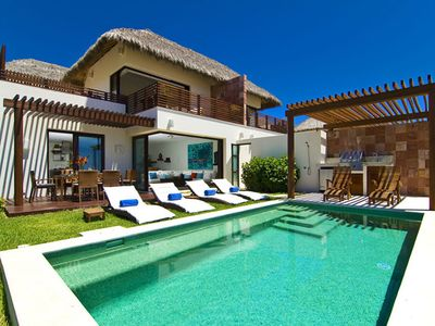 Photo for Villa Topacio - Ideal for Couples and Families, Beautiful Pool and Beach