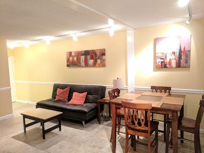Photo for 2 bedroom apt w/ parking, wifi, washer/dryer Preview listing