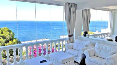 Photo for Breathtaking Costabrava seaview apartment 5m beach