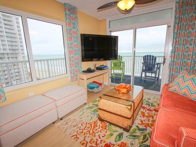 Photo for Oceanfront 3 Br/2 Ba Designer Decorated, Largest Floor Plan