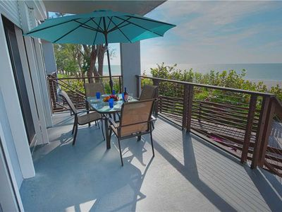 Photo for Private Access to the Beach & June Availability!! The Gulf Front: 2 BA /2.5 BA