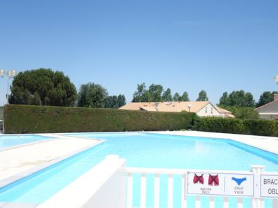 Photo for One bedroom Villa, sleeps 4 with Pool, FREE WiFi and Walk to Shops