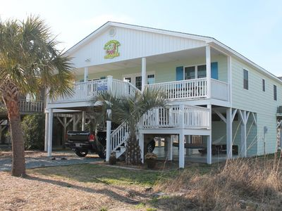 Key lime Cottage is a great beach getaway on Ocean Isle!