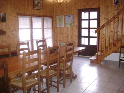 Photo for 2 stars furnished house any comfort 6 pers. in a pleasant setting. Hèchettes