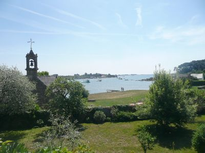 Photo for Charming villa in Saint-Philibert (close to Carnac) directly by the sea. All com