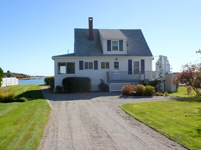 Photo for Oceanfront 2 Bed 2 Bath Luxury Cottage With Ocean/Lighthouse View, Private Dock