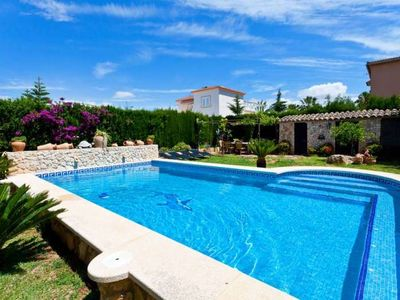 Photo for Calendar 2021 Opened- VILLA HERMOSA- Stone house with private pool in Las Palmeras, 4 bedrooms - Free Wifi