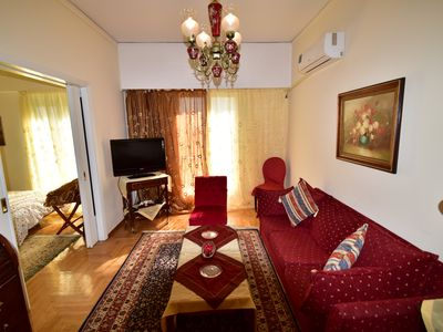 Photo for Classy 2 bedroom apartment under Acropolis at Thissio Metro