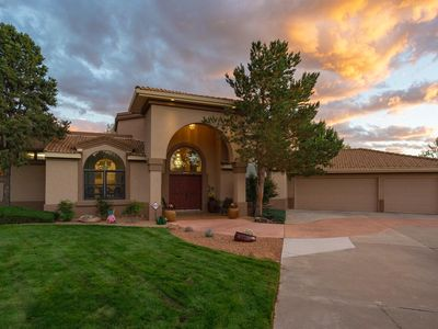 Photo for First-Time Listing: Large Custom Home Nestled in the Sandia Foothills