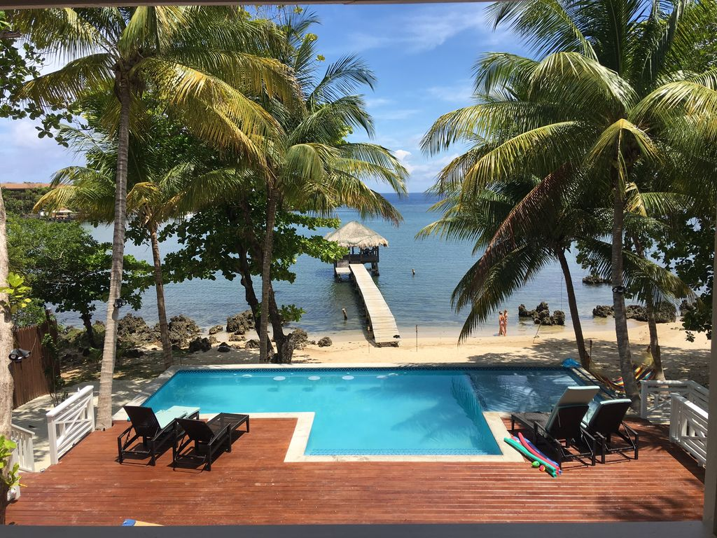 Tranquil Beachfront Villa w/Pool, Paddleboards,... - HomeAway West End