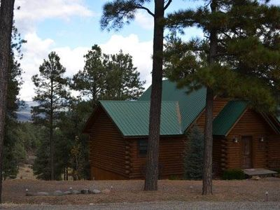 Photo for Maverick Hideaway: 4 BR / 3 BA house/cabin in Pagosa Springs, Sleeps 10