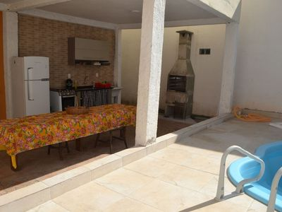 Photo for 1141. 00 - PRAIA GRANDE - HOUSE - 4 SLEEPS - 15 PEOPLE - 200M FROM THE SEA WITH POOL
