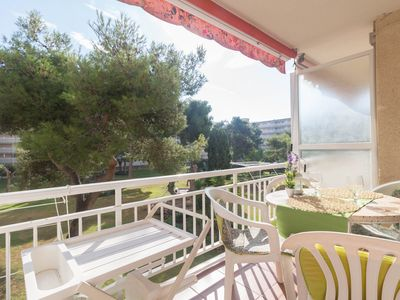 Photo for Nice 2 bedroom apartment with pool located at 500 mts. From the beach of Salou.