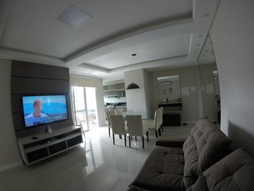 PROMOTION NEW APARTMENT, 3 DORMITÁRIO C / SUITE, 8 PEOPLE. 150 M BEACH WIFI