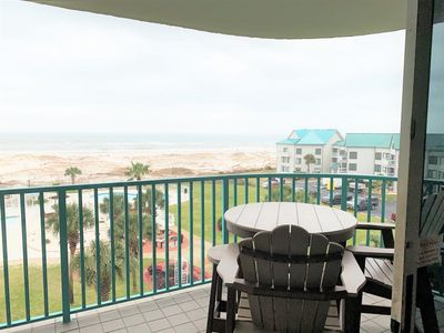 Photo for August - November dates availability!  Gulf Front Washer/Dryer in unit!
