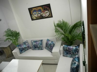Photo for Furnished Service apartment for  minimum 1 month stay with common Kitchen