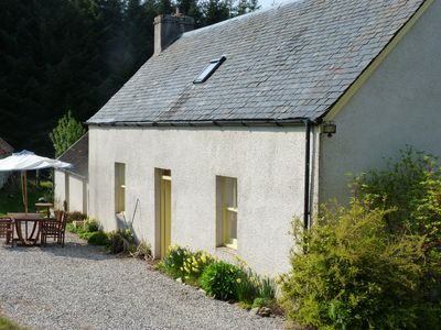 Photo for Traditional Highland Croft cottage. Dog Friendly.