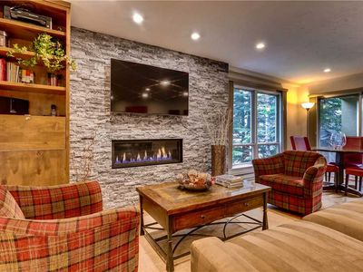 Photo for Modern Condo in Heart of Vail Village with Hot Tubs, Pool | Village Inn Plaza 204