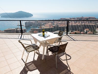 Photo for apt Dubrovnik,sea view,near Old tow