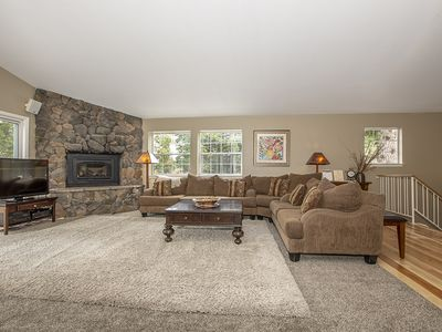 Photo for Shean: 5 BR / 4 BA house/cabin in Tahoe City, Sleeps 15
