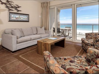 Photo for Spectacular Beach Front Views with 2 Heated Pools and Free Beach Chairs!