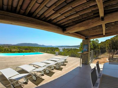 Photo for SEA VIEW Magnificent villa NEW 8 pers HEATED POOL